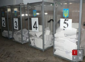 "Photo: Ballot boxes. Illustration for Bohdan Nahaylo's ""Ukraine's Presidential Election Hopes and Blues"""